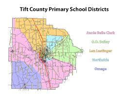Georgia Zip Codes Map by Zones U2013 About Us U2013 Tift County Schools