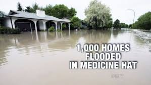 Hit The Floor Medicine Hat - medicine hat flood waters begin to recede 1 000 homes damaged