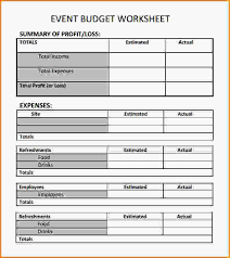 event planning worksheet event budget worksheet template jpg