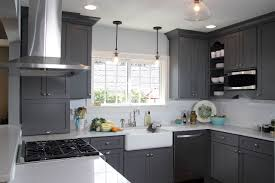 Gray Kitchens A Beautiful Color Green Light Gray Kitchen Cabinets Black Cabinet
