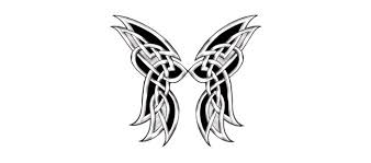wings celtic cross designs small tattoos