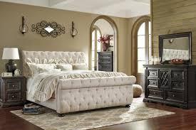 upholstered bedroom set willenburg upholstered bedroom set katy furniture