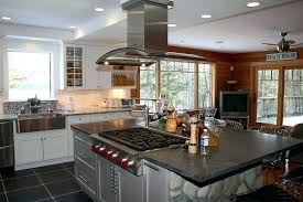 kitchen island with cooktop and seating kitchen island with range top wolf with knobs kitchen island