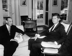 John F Kennedy Rocking Chair Meeting With The Ambassador Of Portugal Dr Pedro Teotónio