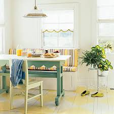 breakfast nook table ideas farm fresh kitchen remodel large pots banquettes and bench