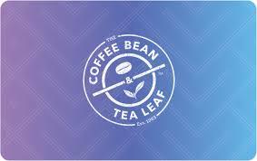 egift card egift card the coffee bean tea leaf