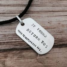 mens dog tags engraved shop personalized dog tags for men on wanelo
