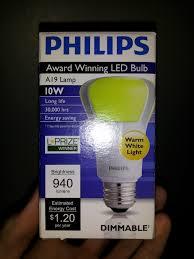 light box light bulbs world s most efficient led light bulb philips award winning led
