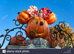 Halloween Usa Com by Halloween At Disneyland Amusement Park In California Usa Stock