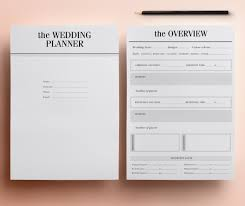 wedding planner printable ultimate printable wedding planning