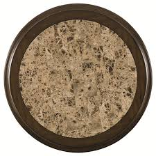 round stone top coffee table agio burgandy round stone top table mathis brothers furniture coffee