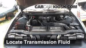 camaro transmission add transmission fluid 1993 2002 chevrolet camaro 1994