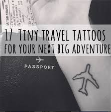 travel tattoos images 17 tiny travel tattoos for your next big adventure jpg