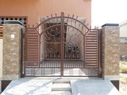 main door simple design main door using iron grill concept gharexpert