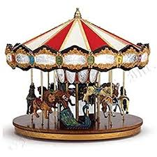 mr christmas mr christmas grand jubilee carousel box
