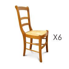 chaises louis philippe lot de 6 chaises hêtre assise paille louis philippe maison et styles