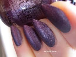 uknailrunner opi lincoln park after dark suede with l u0027oreal confetti