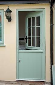 beeston flint stable door in chartwell green front door