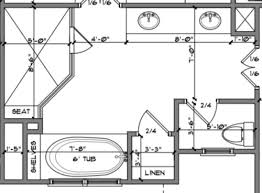 master bathroom floor plan exle bathroom floor plans i like this master bath layout no