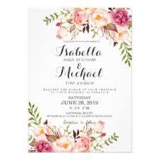 wedding invite wedding invitation flowers beautiful floral wedding invitations