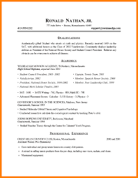 Resume Examples College by Super Cool How To Write A Student Resume 6 8 Examples College