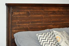 Barn Wood Headboard Ana White Reclaimed Wood Headboard Pottery Barn Mason Headboard