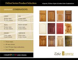 Kitchen Cabinet Door Colors Legacy Cabinets Debut Series Product Overview Kitchen Cabinet