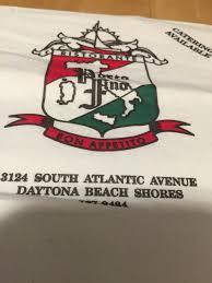porto fino restaurant daytona beach shores menu prices