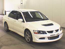 mitsubishi evo 7 stock japanese car history check odometer and accident history