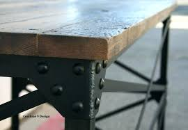 Diy Large Desk Industrial Desk Vintage Industrial Desk Industrial Office Desk For