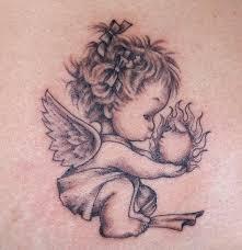 small angel tattoos tattoo amak