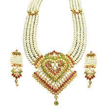gold rani haar sets buy jpearls simple rani haar online best prices in india rediff