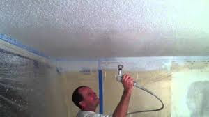 spray paint ceilings step by step https allteriorpainting com