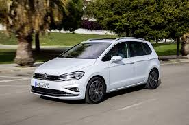 volkswagen models 2018 volkswagen golf sportsvan shows facelift in new photos