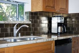 kitchen backsplash stick on peel and stick backsplash tile guide
