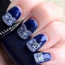 50 latest lace nail art design ideas