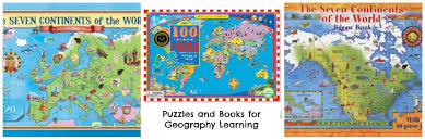 Seven Continents Map How To Learn The Countries Of The World Play Eat Grow
