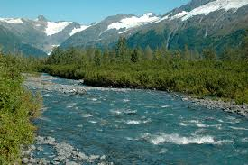 Kenai Alaska Map by Kenai Peninsula Glaciers Directory