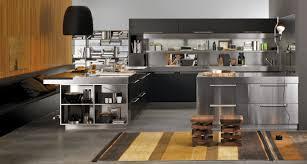 peninsula island kitchen contemporary kitchen stainless steel oak island artusi