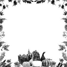 18 free thanksgiving borders and frames