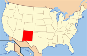 New Mexico Road Closures Map by Paleontology In New Mexico Wikipedia