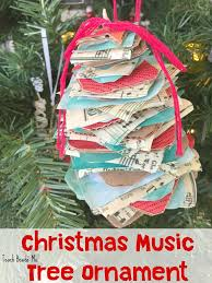 Homemade Christmas Tree Ornaments by Homemade Christmas Music Tree Ornament Teach Beside Me