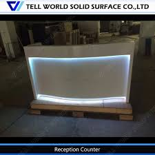 Reception Desk Sale by Sale Solid Surface White Reception Desk Shop Counter Table