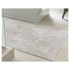 Silver Bathroom Rugs Gray Silver Bath Rugs Mats You Ll Wayfair