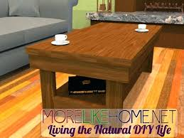 Build Large Coffee Table by How To Build Coffee Table U2013 Thelt Co