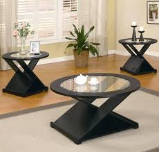 dark wood coffee table sets 3 piece coffee and end tables black 3 pieces round occasional table