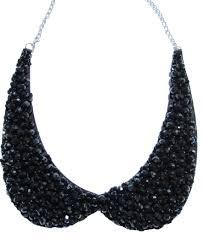 collar necklace images Black collar necklace jpg
