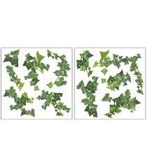 ivy home decor home decor ivy wall stickers 10 piece set joann