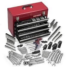 tool box craftsman 365 pc mechanics tool set w craftsman tool box 4 drawers