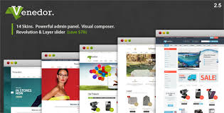 theme toko online landing page venedor wordpress woocommerce theme by p themes themeforest